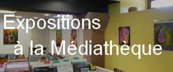 Voir les expositions réalisées à la Médiathèque