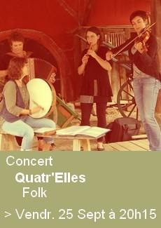 Concert Quatr'Elles