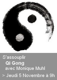 Qi Gong à la Médiathèque