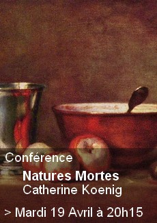 Conférence Natures Mortes