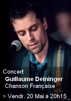 Concert Guillaume Deiniger