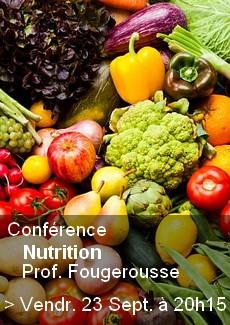 Conférence Nutrition