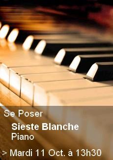 Sieste Blanche Piano