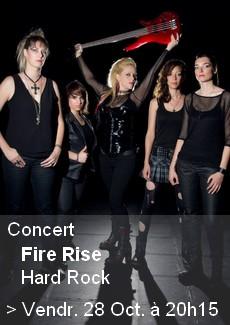 Concert Fire Rise
