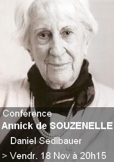 Conférence - Annick de Souzenelle