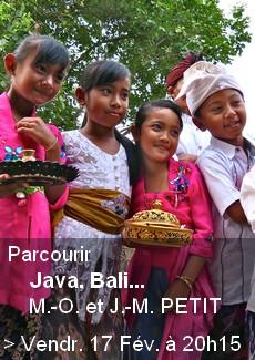 Parcourir Bali, Java