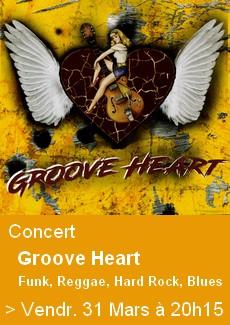 Concert Groove Heart