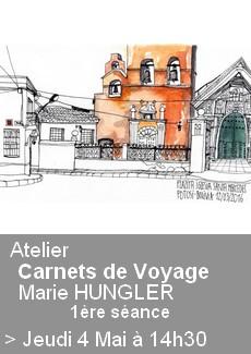 Atelier Carnets de Voyage