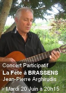Concert participatif - Brassens
