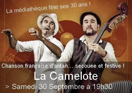 Chanson Française secouée et festive !