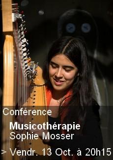 Conférence Musicothérapie