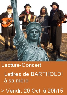 Lecture- Concert : Bartholdi