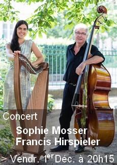 Concert Harpe Contrebasse