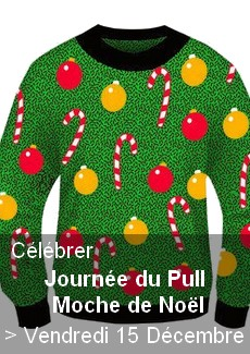 Journée du Pull Moche de Noël