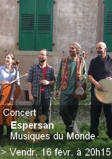 Concert Musiques du Monde