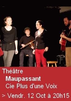 Théâtre - Maupassant