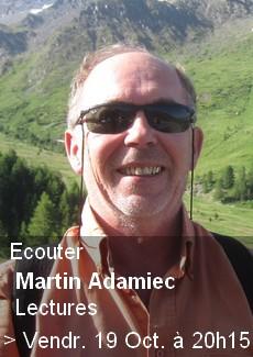 Lectures - Martin Adamiec