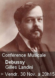 Conférence Musicale - Debussy