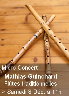 Micro Concert - Flûtes Traditionnelles