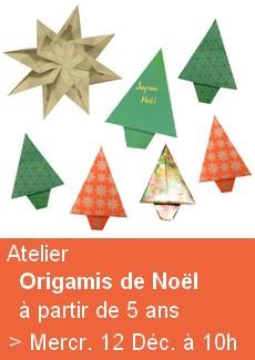 Origamis de Noël