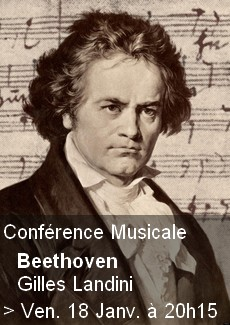 Conférence Musicale - Beethoven