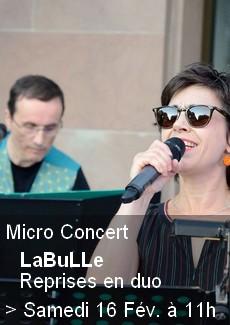Micro Concert - Reprises en Duo