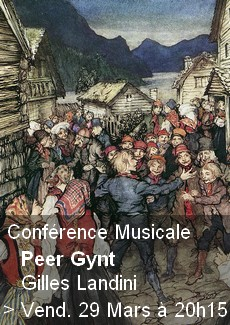 Conférence Musicale - Peer Gynt