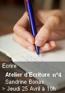 Atelier d'Ecriture n°4