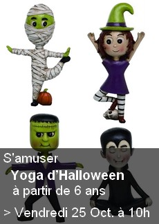 Yoga d'Halloween