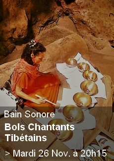 Bain Sonore : Bols tibétains