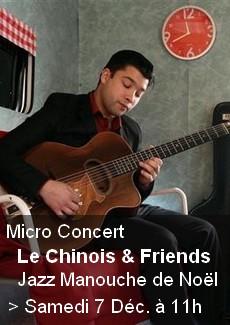 Concert jazz manouche