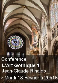 Conférence : L'Art Gothique 1