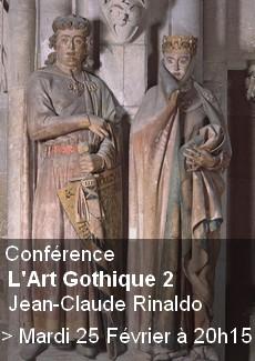 Conférence : Art Gothique 2